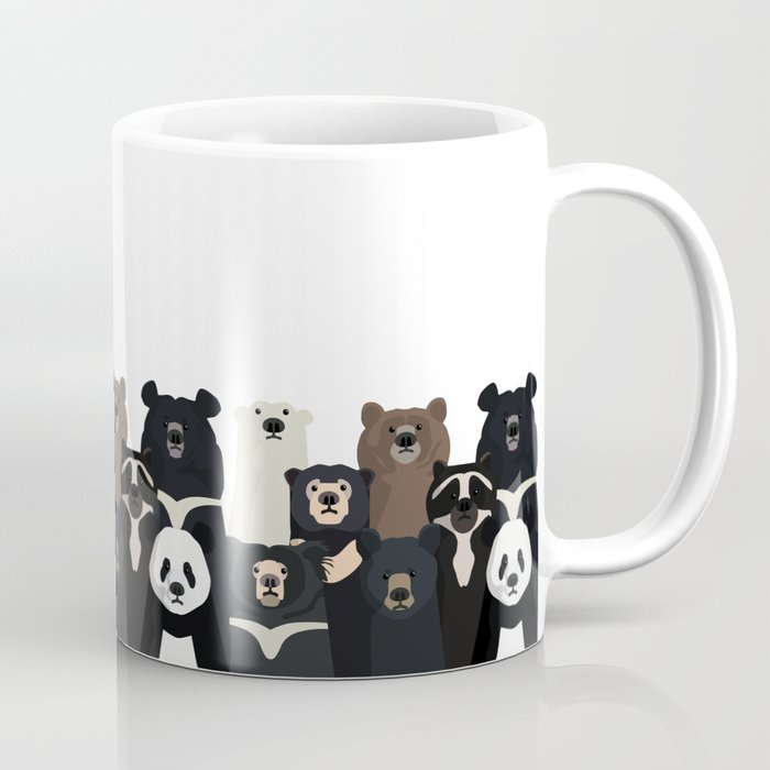 Bear family portrait Kaffeebecher