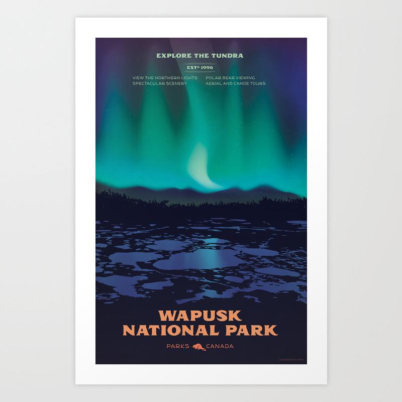 Wapusk National Park Poster Art Print By Cameronstevens Society6