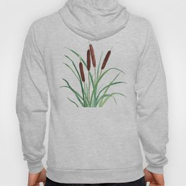 cattails plant Hoody