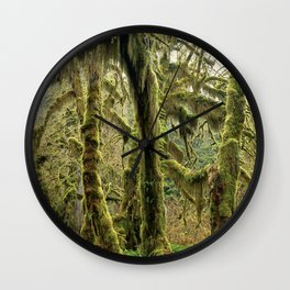 Hall Of Mosses Wall Clock