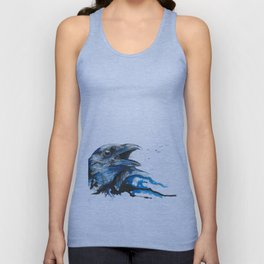 Blue crow Unisex Tank Top