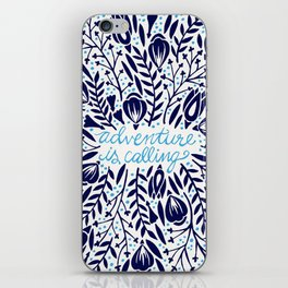 Adventure is Calling – Porcelain Palette iPhone Skin