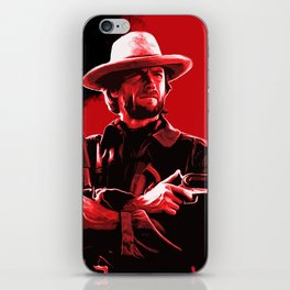 The Man With No Name iPhone Skin