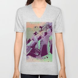 Fruit Ninja by GEN Z Unisex V-Neck