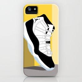 Air Jordan XI Illustration iPhone Case