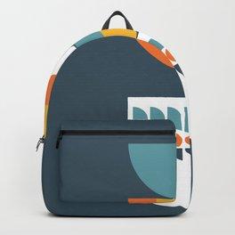 Geometric Plant 02 Backpack