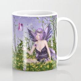 Purple Spring Fairy Coffee Mug