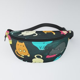 Kitty Space Fanny Pack