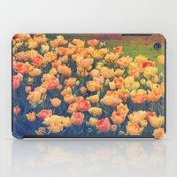 tulips iPad Cases featuring Tulips  by Juliana RW