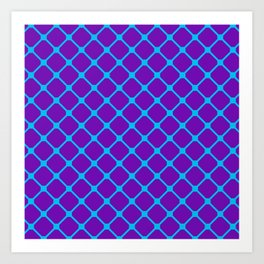 Square Pattern 1 Art Print