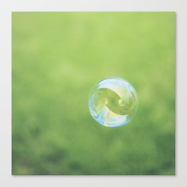 Bubble. Canvas Print