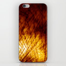 Light on the wall iPhone Skin
