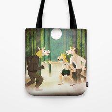 Vampire Unicorn Tote Bag