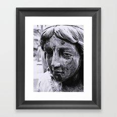 Angelic face Framed Art Print