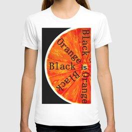 Black is Orange T-shirt