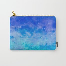 Sweet Blue Dreams Carry-All Pouch