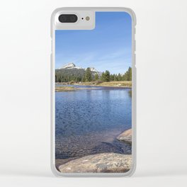 Tuolumne River and Meadows, No. 2 Clear iPhone Case