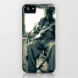 Hosea Hargrove, The Godfather Of Austin Blues iPhone Case