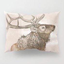 Misty Morning Elk Pillow Sham