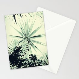Abstract Urban Garden Stationery Cards