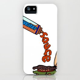 Dubstep Sauce iPhone Case