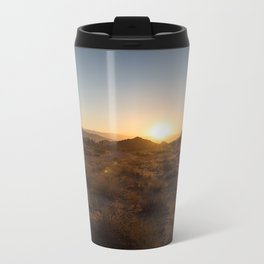 Sunsets at Joshua Tree Metal Travel Mug