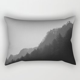 Pluviophile B&W Rectangular Pillow