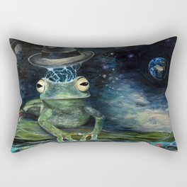 Froggy Heaven Rectangular Pillow