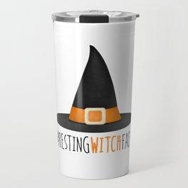 #RestingWitchFace Travel Mug