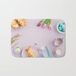 Easter breakfast Bath Mat