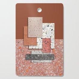 Terrazzo collage 1 Cutting Board
