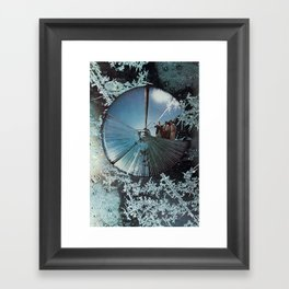Quick of Now, Dead of Then Framed Art Print
