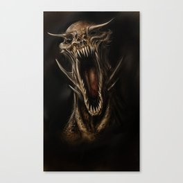 Demo head Canvas Print