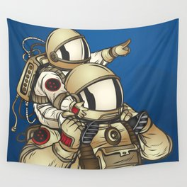 Astronauts Wall Tapestry