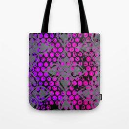 Neon Dots Tote Bag