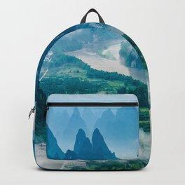 Li River in Guilin China 2 Backpack