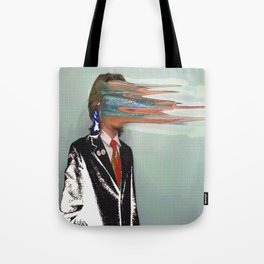 NO ONE AROUND HERE HAS THE GUTS Tote Bag