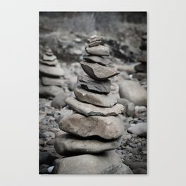 Stacked High Canvas Print