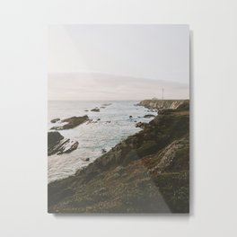 Pacific Highway Lighthouse Metal Print