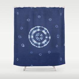 Kanoko Kumo Shibori Shower Curtain