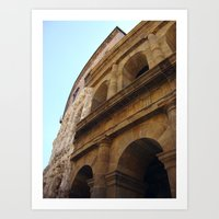 theater Art Prints featuring Theater by BMaw