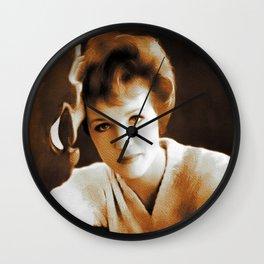 Julie Andrews, Movie Legend Wall Clock