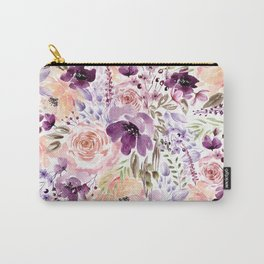 Floral Chaos Carry-All Pouch