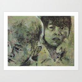 Third World: 5 Art Print