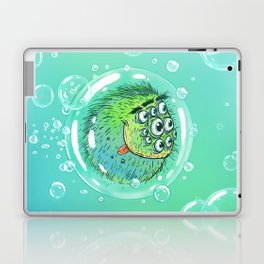 Bacillus B0b on bubble-transport Laptop & iPad Skin