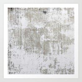 Vintage White Wall Art Print