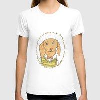 dachshund T-shirts featuring Dachshund by MariyArti