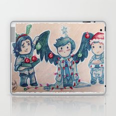O Christmas Cas Laptop & iPad Skin