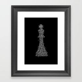 King Pin Framed Art Print