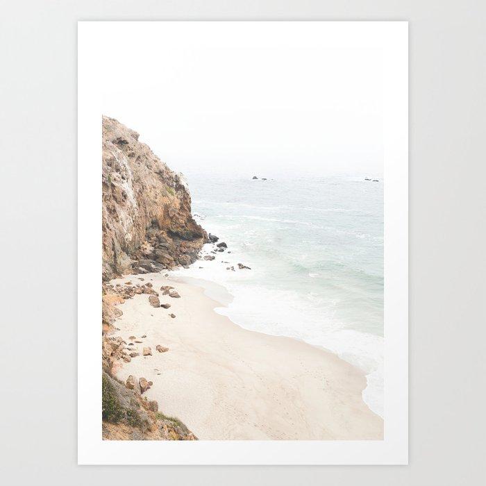 Malibu California Beach Kunstdrucke